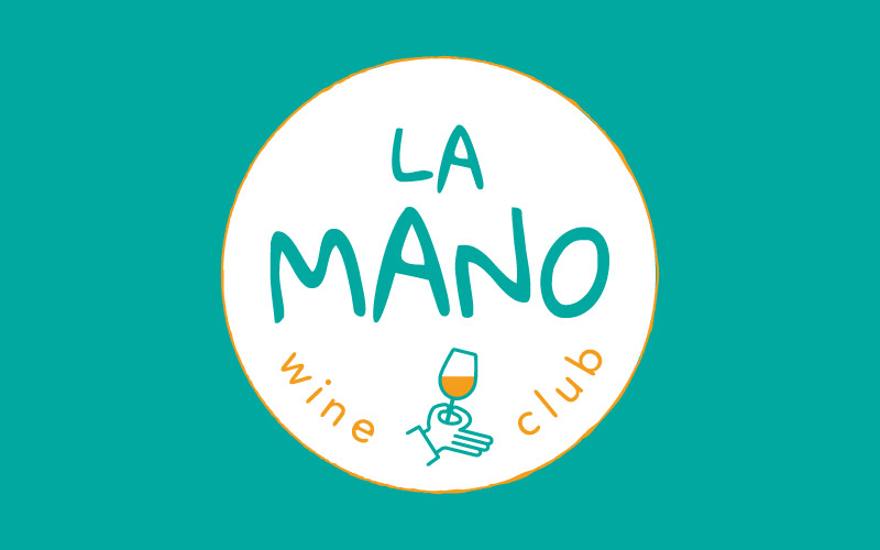 Logo La Mano Wine Club version ronde