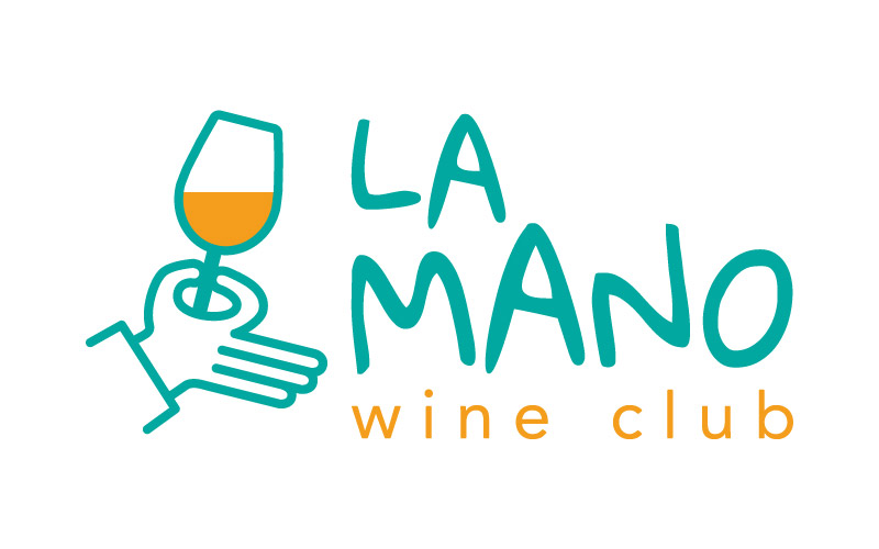 Logo La Mano Wine Club version rectangle